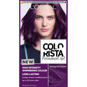 L'Oréal Paris Colorista Magnetic Long-Lasting Permanent Hair Dye Gel - Magnetic Plum 1ml