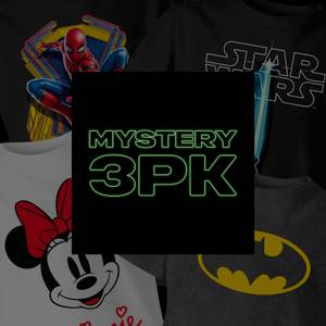 Boys' Mystery 3 Pack T-Shirts - Multi