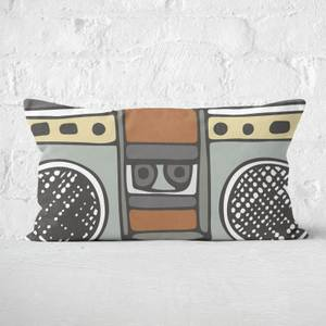 Boombox Rectangular Cushion