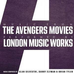 Music From The Avengers Movies Colour LP