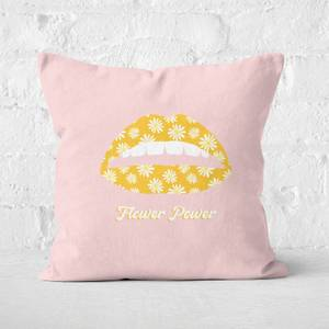 Flower Power Square Cushion