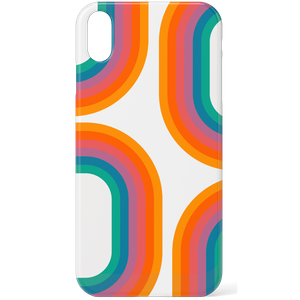 60s Geo Print Phone Case for iPhone and Android