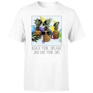 30th Birthday Pineapple Men's T-Shirt - White