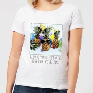 30th Birthday Pineapple Women's T-Shirt - White