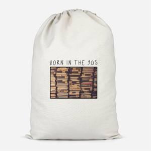 Born In The 90s Cotton Storage Bag