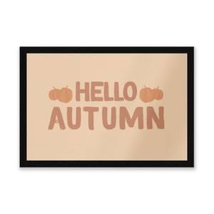Hello Autumn Entrance Mat
