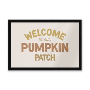 Welcome To Our Pumpkin Patch Entrance Mat