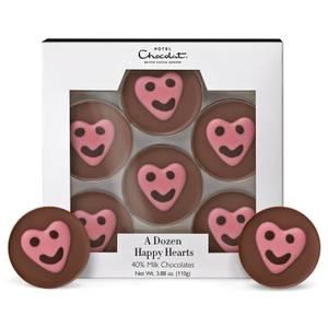 A Dozen Happy Hearts