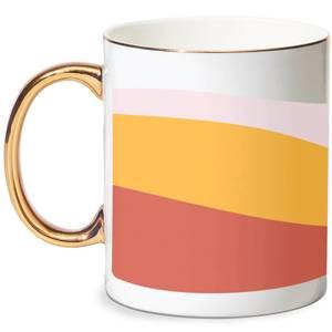 Autumn Colours Bone China Gold Handle Mug