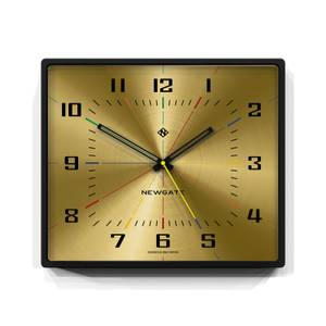 Newgate Box Office Clock - Brass