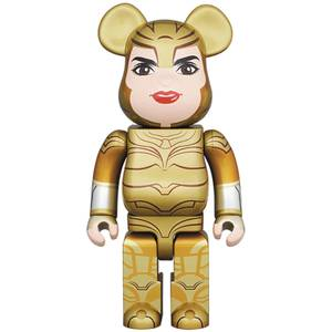 Medicom Wonder Woman 1984 Golden Armor 400% Be@rbrick