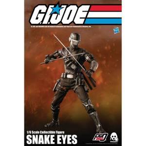 ThreeZero G.I. Joe FigZero 1:6 Scale Collectible Figure - Snake Eyes