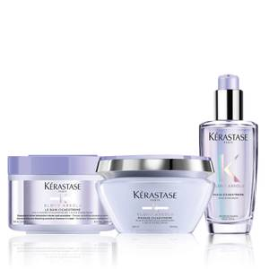Kérastase Blond Absolu Restoring Shampoo, Mask and Oil Trio