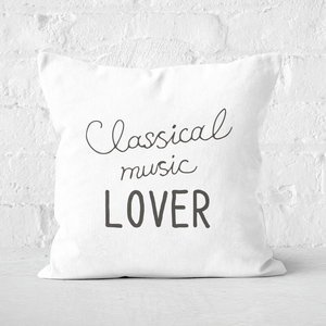 Classical Music Lover Square Cushion