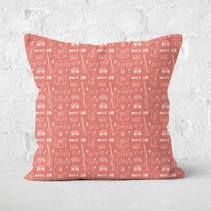 Rock Square Cushion