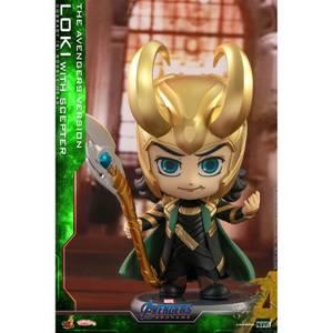 Hot Toys Cosbaby - Avengers: Endgame (Size S) - Loki (with Helmet/The Avengers Version)