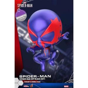 Hot Toys Cosbaby - Marvel's Spider-Man (Size S) - Spider-Man (Spider-Man 2099 Black Suit Version)