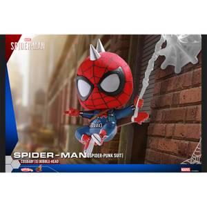 Hot Toys Cosbaby - Marvel's Spider-Man (Size S) - Spider-Man (Spider-Punk Suit Version)