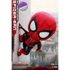 Hot Toys Cosbaby Marvel Spider-Man: Far From Home (Size S) - Spider-Man (Wall Crawling Version)