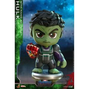 Hot Toys Cosbaby Marvel Avengers Endgame (Size S) - Hulk (with Nano Gauntlet Version)