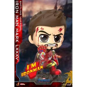 Hot Toys Cosbaby Marvel Avengers Endgame (Size S) - Iron Man Mark 85 (Battling Version)