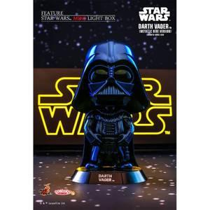 Hot Toys Cosbaby - Star Wars (Size S) - Darth Vader (Blue Metallic Version)