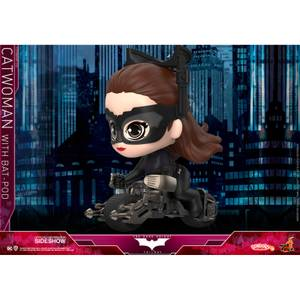 Hot Toys Cosbaby DC Comics The Dark Knight Rises (Size S) - Catwoman with Batpod