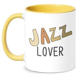 Jazz Lover Mug - White/Yellow