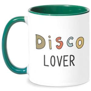 Disco Lover Mug - White/Green