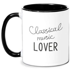 Classical Music Lover Mug - White/Black
