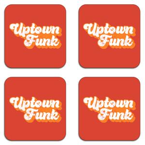 Uptown Funk Coaster Set