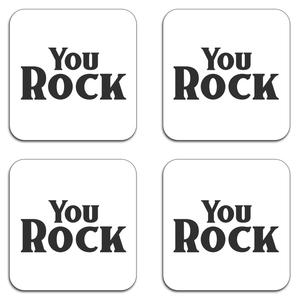 You Rock Coaster Set
