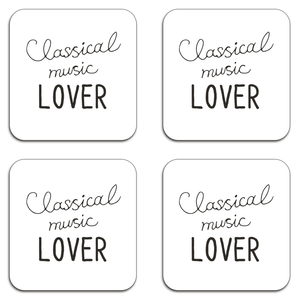 Classical Music Lover Coaster Set