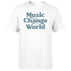 Music Can Change The World Men's T-Shirt - White