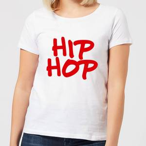 Hip Hop Women's T-Shirt - White