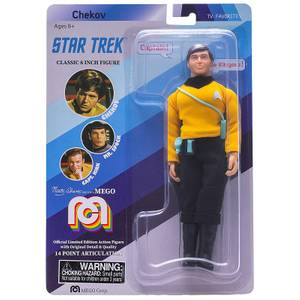 Mego 8 Inch Star Trek ChekovOriginal Series Action Figure
