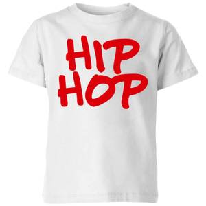 Hip Hop Kids' T-Shirt - White