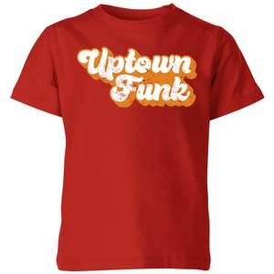 Uptown Funk Kids' T-Shirt - Red