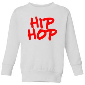 Hip Hop Kids' Sweatshirt - White