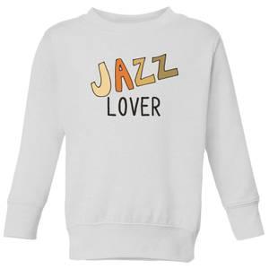 Jazz Lover Kids' Sweatshirt - White