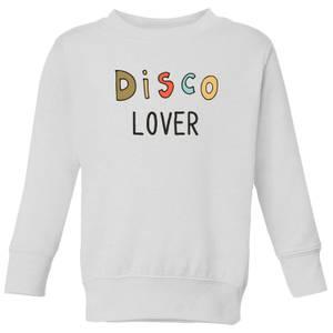 Disco Lover Kids' Sweatshirt - White