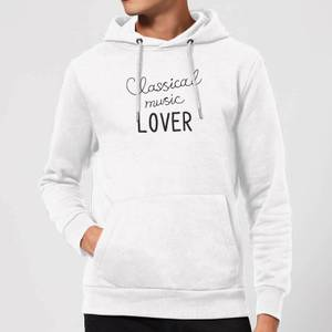 Classical Music Lover Hoodie - White