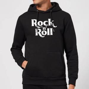 Rock N Roll Hoodie - Black