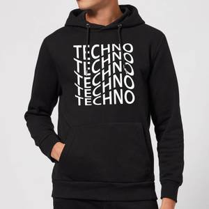 Techno Hoodie - Black