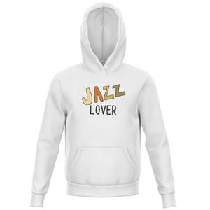 Jazz Lover Kids' Hoodie - White