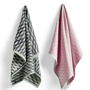 HAY Tea Towel Pink - Set of 2