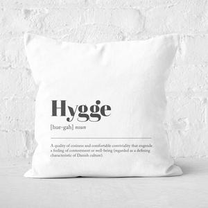 Hygge Definition Square Cushion