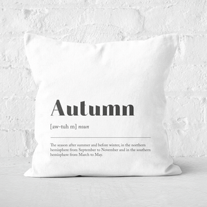 Autumn Definition Square Cushion