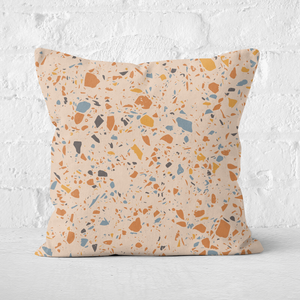 Autumn Terrazzo Square Cushion