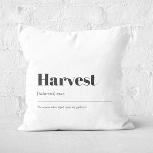 Harvest Square Cushion